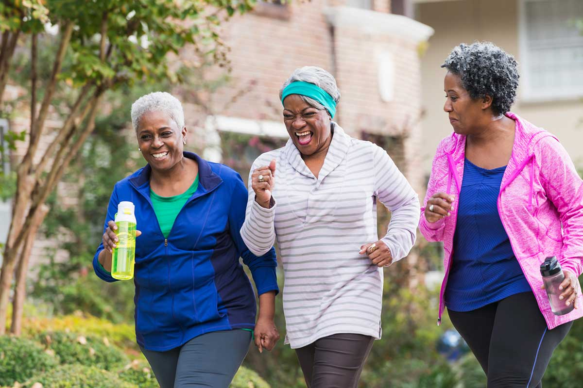 The Benefits of Exercise into Your Golden Years!
